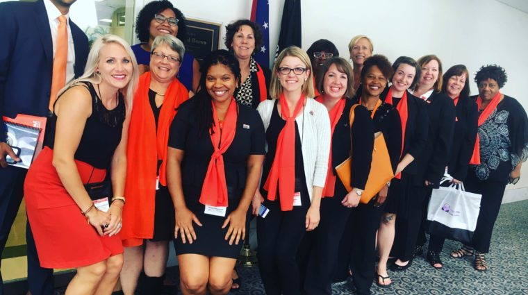 image group of women at capital hill day