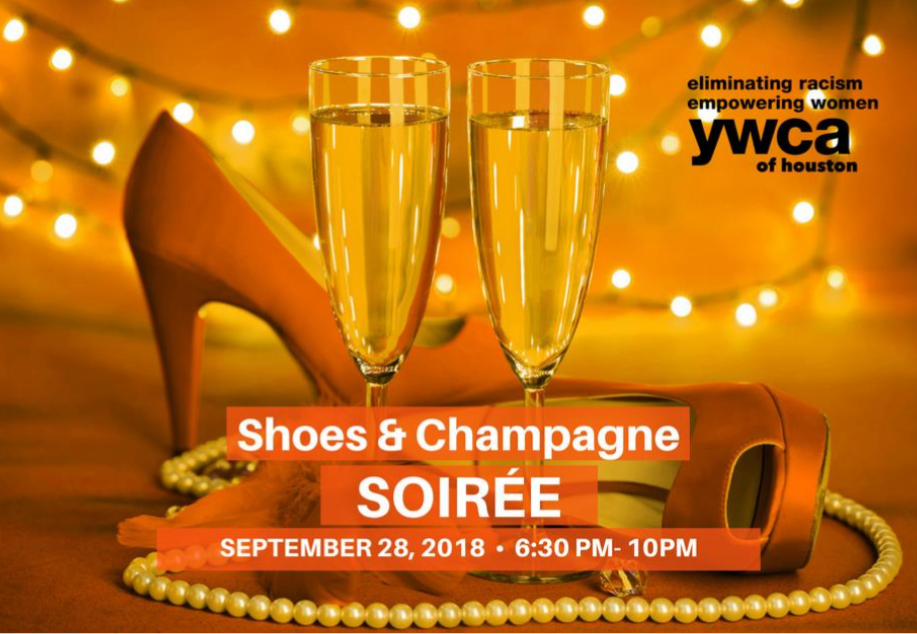 image shoes and champane event
